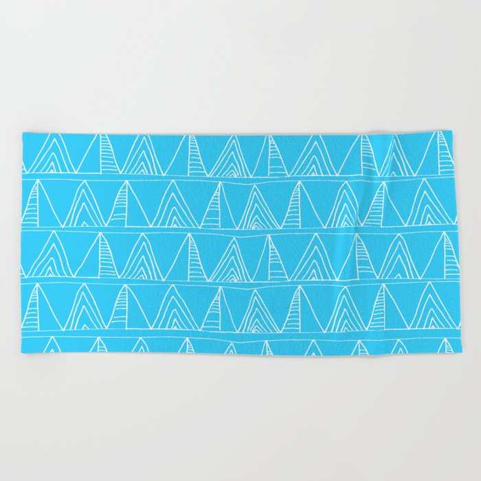 Triangles- Simple Triangle Pattern for hot summer days-Mix & Match Beach Towel