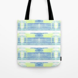Geometric Background with Client's Logo  Tote Bag