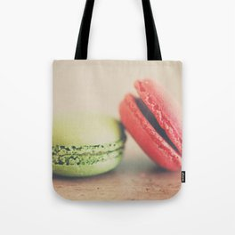pistachio & strawberry ... Tote Bag