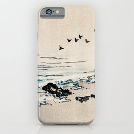 Beach Scenery Traditional Japanese Landscape iPhone Case