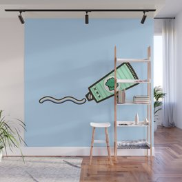 Toothpaste Wall Mural