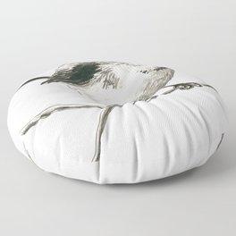 Tit bird  Floor Pillow