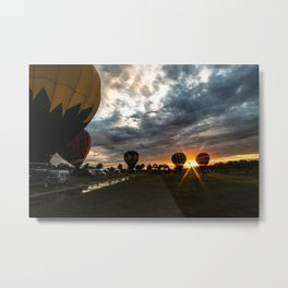 Balloon Festivities Metal Print