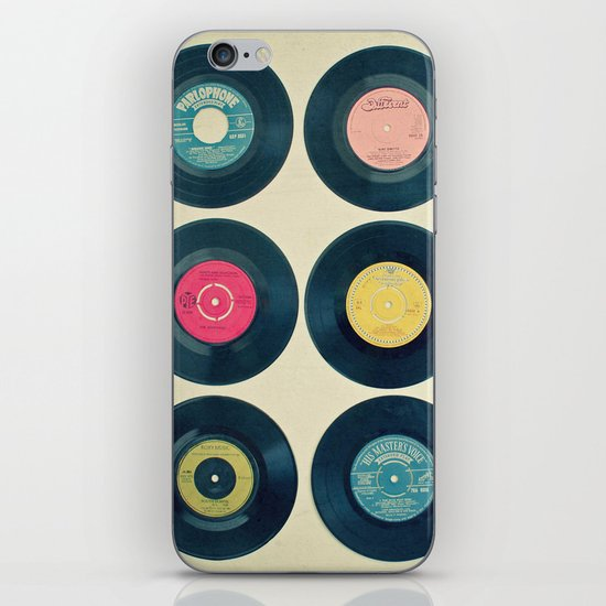 Vinyl Collection iPhone & iPod Skin