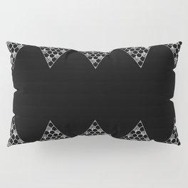 Spikes (Black) Pillow Sham