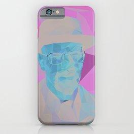 Walter Fan Art iPhone Case