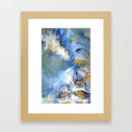 Ocean Deep Framed Art Print