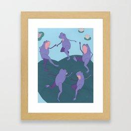 Matisse Frogs Framed Art Print