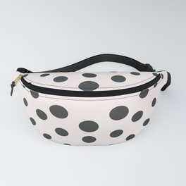 Mid-Century Modern Art - Bubblegum Spiral Dots Fanny Pack