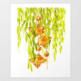 WindChime Art Print