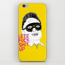 F*ck Sh*t Up iPhone Skin