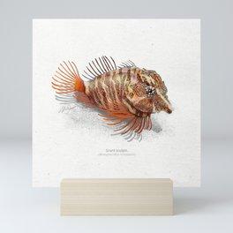 Grunt sculpin fish art print Mini Art Print