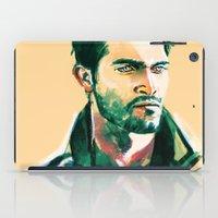 derek hale iPad Cases featuring Derek by Alice X. Zhang