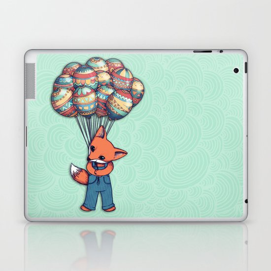 A Bunch of Balloons for my Baby Laptop & iPad Skin