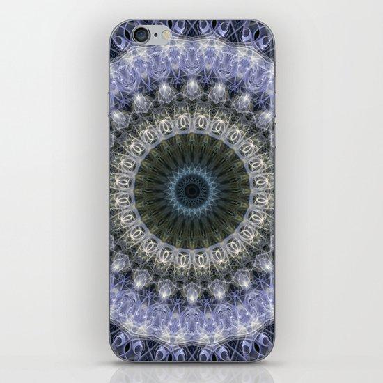 Amethyst mandala with blue star by jaroslawblaminsky