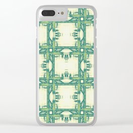 Seamless thorny pattern Clear iPhone Case