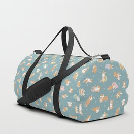 Corgi Day After Night Party With Fairies Duffle Bag