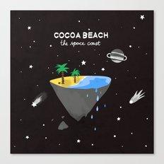 COCOA BEACH Canvas Print