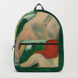 Paul Gauguin - In the Waves Backpack