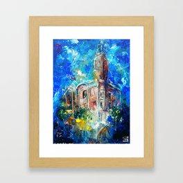 THE CITY HALL OF COLCHESTER Framed Art Print