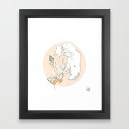 M E L T Framed Art Print