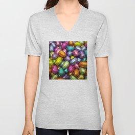 Chocolate Easter Eggs! Unisex V-Neck