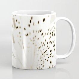 Sepia Lily Close-up Coffee Mug
