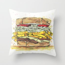 The Sammy of Primanti Throw Pillow