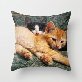 double laziness Throw Pillow
