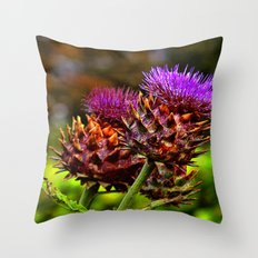 The Colour Purple Throw Pillow