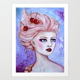 Susie Sundae Art Print