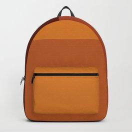 Autumn geometric pattern Backpack