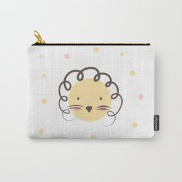 The dot lion Carry-All Pouch