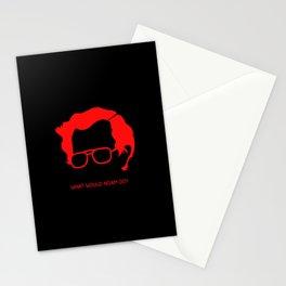 Noam Chomsky The God of Anarchist Stationery Cards