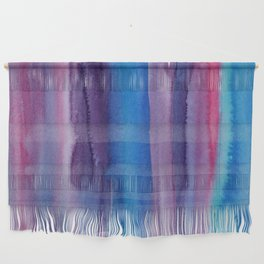 Brushed Watercolor Wall Hanging