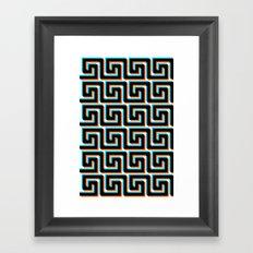 Pixel Wave no.3 Framed Art Print