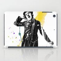charlie chaplin iPad Cases featuring charlie chaplin 05 by manish mansinh
