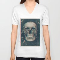 sleeping beauty V-neck T-shirts featuring Sleeping Beauty by Galvanise The Dog