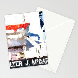 Walter J McCarthy JR Lifeboat Stationery Cards
