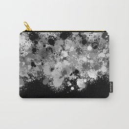 paint splatter on gradient pattern bwmwi Carry-All Pouch