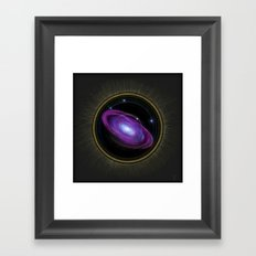 Space Travel - Painting Framed Art Print