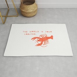 The World is Your Lobster Rug
