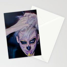 I, MEXICAN SKULL Stationery Cards