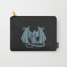 "Dragon Letter M, from ""Dracoserific"", a font full of Dragons Carry-All Pouch"