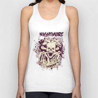 nightmare Tank Tops featuring Nightmare by Tshirt-Factory