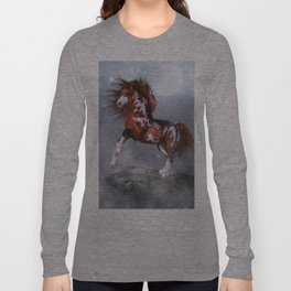 Native Horse Long Sleeve T-shirt