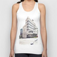 theater Tank Tops featuring Historic Tacoma Theater by Vorona Photography