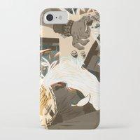 folk iPhone & iPod Cases featuring Folk vs. Metal by Logan  Faerber