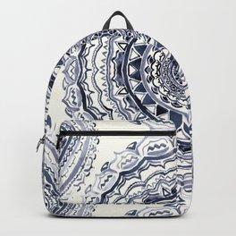 Supernova-In Navy, Dark Blue, & Grey Backpack