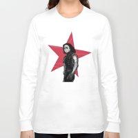 derek hale Long Sleeve T-shirts featuring Winter S. Derek  by Finduilas